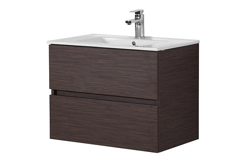 750 Walnut Vanity with Ceramic Top