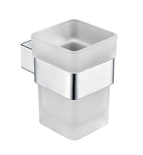 Chrome Square Tumbler Holder