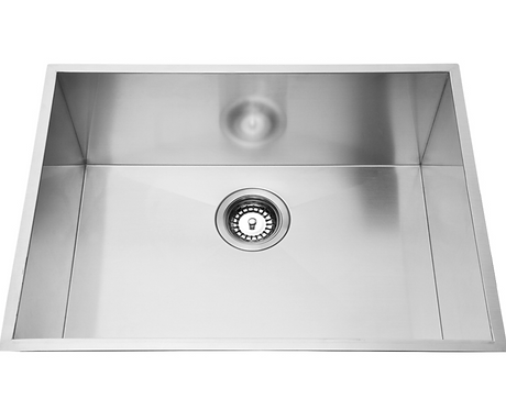 Stainless Steel Under/Over Mount Single Bowl 760x440x230mm