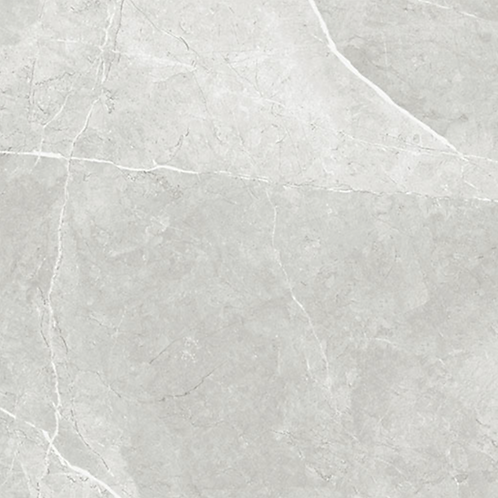 Liva Marble Grey Porcelain Tile 600x600 - Polished