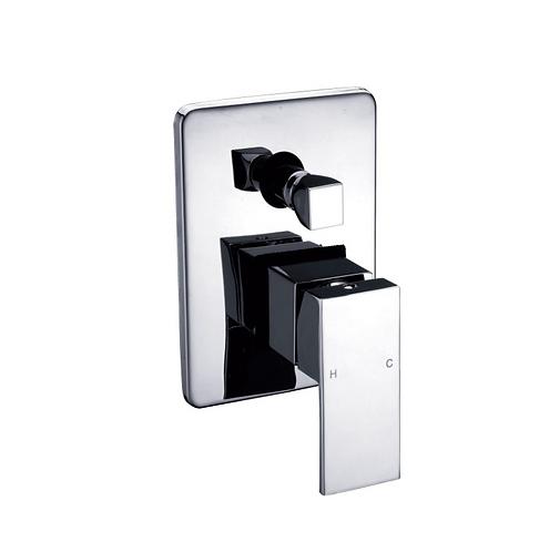 Square Handle Shower Diverter Mixer