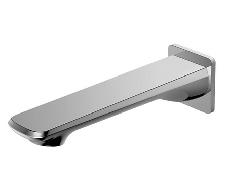 Brushed Nickel Wall/Bath Spout