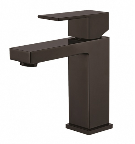 Matte Black Square Basin Mixer