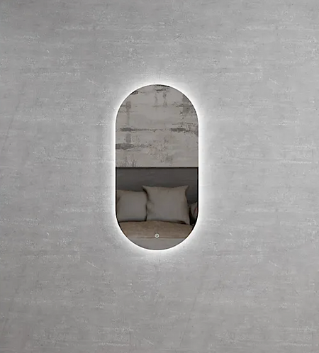 Noosa Oval LED Mirror