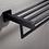 Thumbnail: Matte Black Towel Rack 600mm