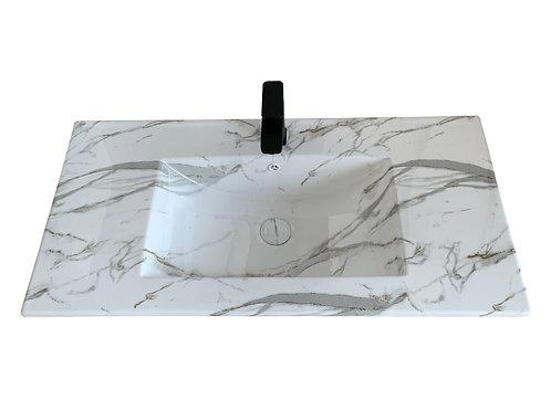 Carrara Vanity Top 900mm