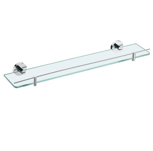 Chrome Glass Shower Shelf