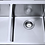 Thumbnail: Stainless Steel Under/Over Mount Double Sink 1140x440x230mm
