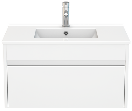 750 Gloss White PVC Vanity