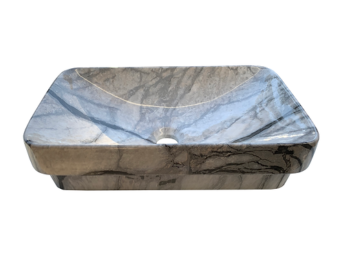 IMP Rectangular Inset with Marble Effect