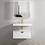 Thumbnail: Moonlight WH Cabinet + Basin - 750mm