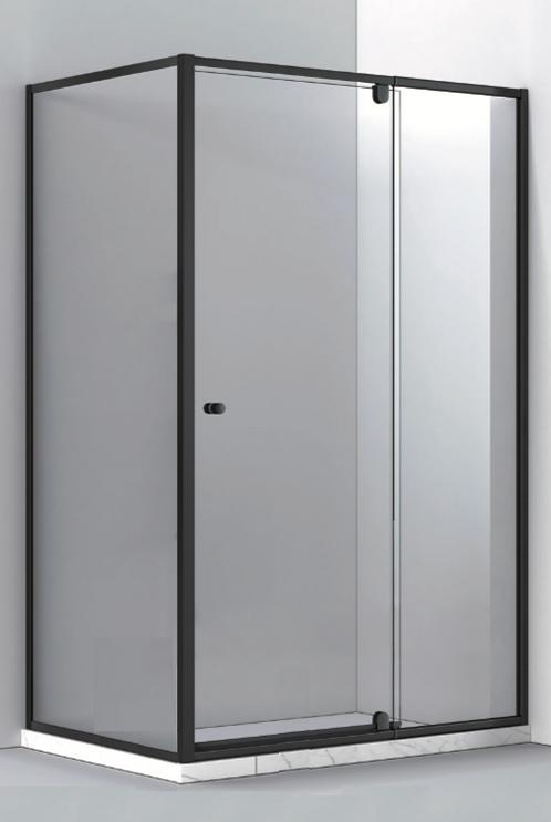 Corner Shower Screen w/ Pivot Door - B