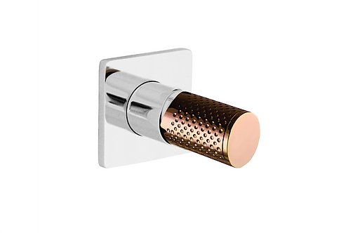 The Gabe Wall Mixer - Chrome | Rose Gold