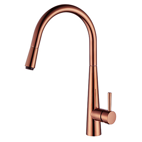 Pull Out Kitchen Mixer Copper and Black