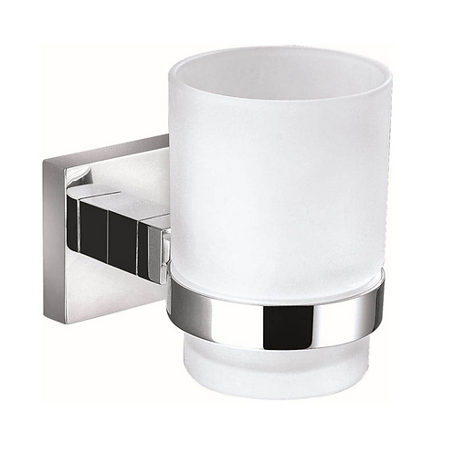 Chrome Round Tumbler Holder