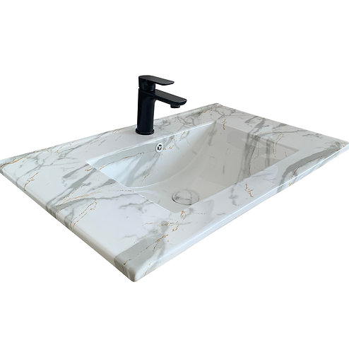Carrara Vanity Top 750mm