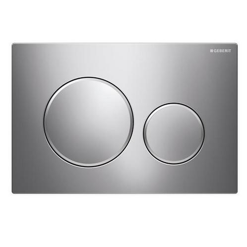 Geberit Grey Round Wall Button