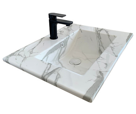 Carrara Vanity Top 610mm