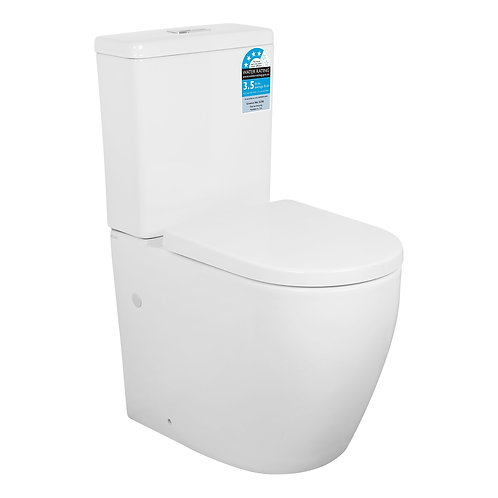 Veda Wall Faced Toilet Suite | Tornado Flush