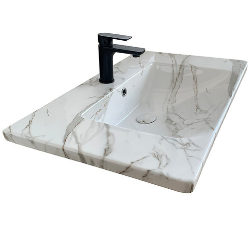 Carrara Infinity Vanity Top 750mm