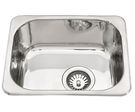 Stainless Steel Single Bowl 390x370x160mm