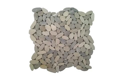 Botany Light Grey Pebble Mosaic