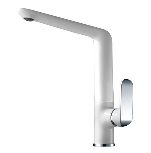 Ikon Chrome/White Sink Mixer