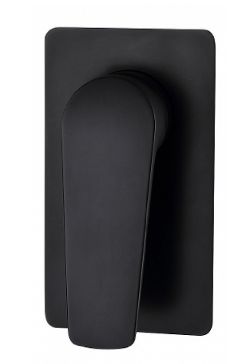 Matte Black Wall Shower Mixer