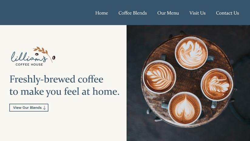 Website Concept - Landing Page