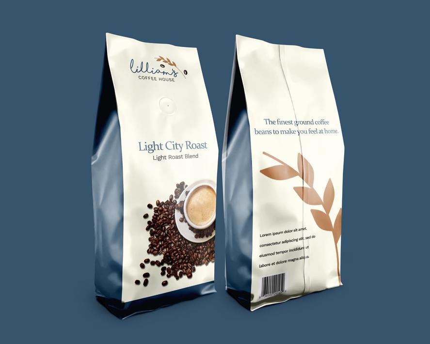 Coffee Bags Concept (Whole Bean - Light Roast)