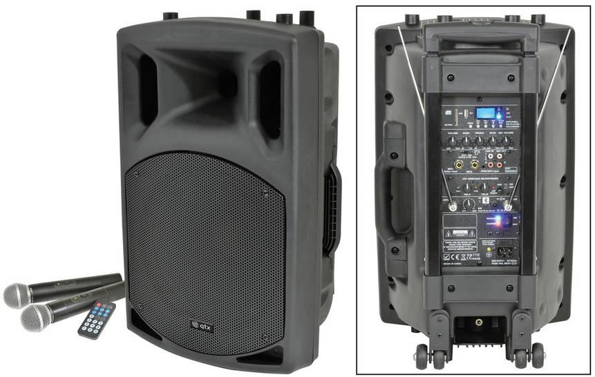 QTX BT speakers