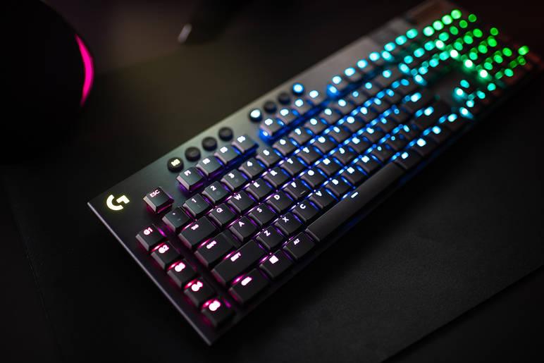 Logitech keyboard gaming