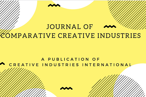 Sponsorship of Annual Publication of Journal of Comparative Creative Industries