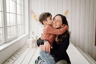 mother-her-son-are-posing-studio-wearing