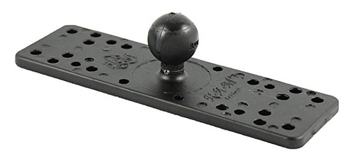 "6 1/4"" X 2"" Universal Marine Base with 1"" Ball"