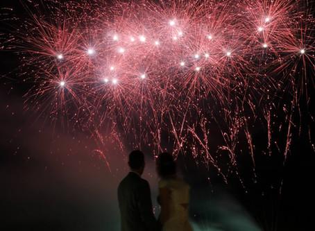 Bowood Hotel (Wiltshire) - Wedding Fireworks by Northern Lights Fireworks