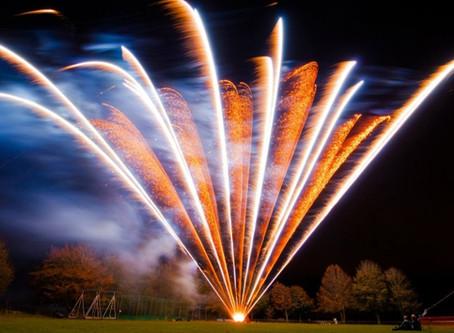 Winkworth Farm (Wiltshire) - Wedding Fireworks by Northern Lights Fireworks