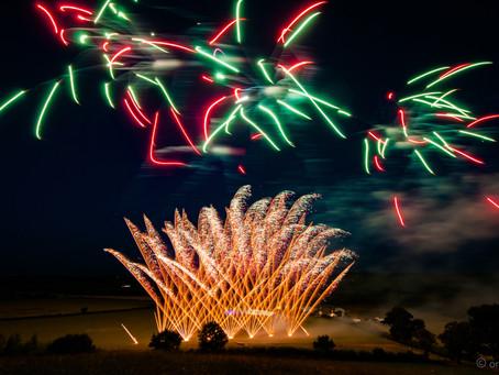 Birthday Celebration Fireworks by Northern Lights Fireworks