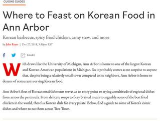 Where to Feast on Korean Food in Ann Arbor