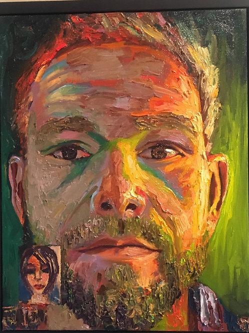 Self Portrait 12-27-17, Face Time