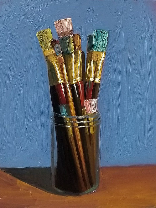 Jar Of Brushes