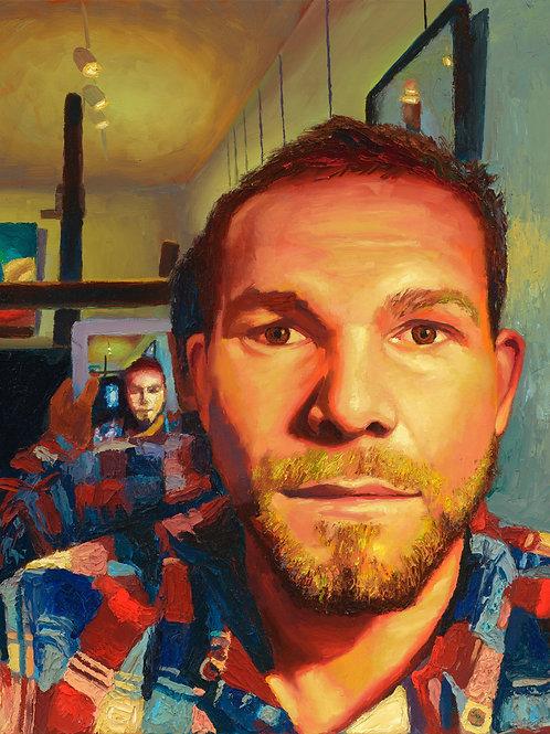 Self Portrait  14- August-15