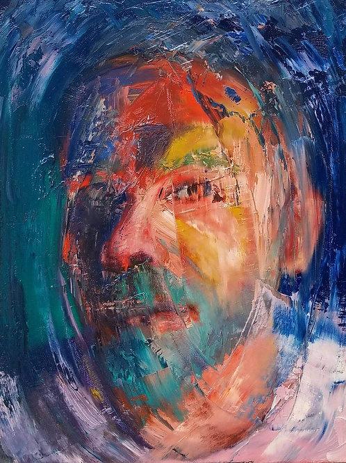 Sound Of Water - Self Portrait 2018