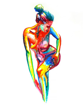 Scott Jacobs Gallery, Watercolor, Holocene