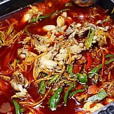 自贡跳水蛙 Boiled Frog with Ginger