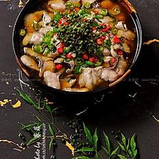 藤椒仔鱼 Boiled Fresh Fish with Rattan Peppers
