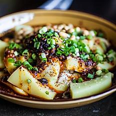 伤心凉粉 Steam Rice Noodle in Chili Sauce