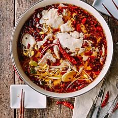 飘香水煮鱼 Boiled Fresh Fish Fillet with Chili