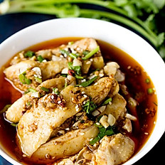口水鸡 Steam Chicken with Chili Oil