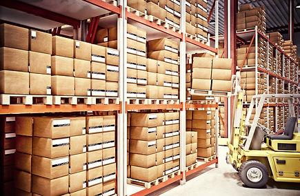 America Ship's fulfillment warehouse, inside